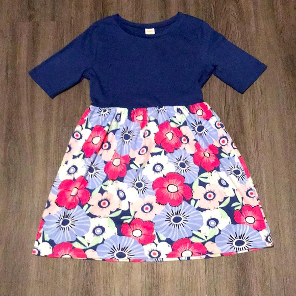 Gymboree girl's floral casual dress